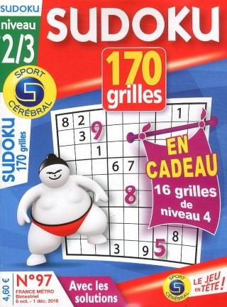 170 sudoku niveau 2/3