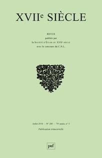 Abonnement 17ème siècle