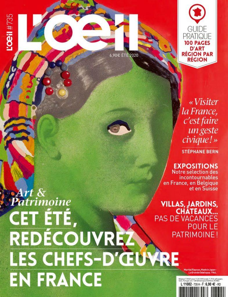 Abonnement Le Journal des arts + L'Oeil