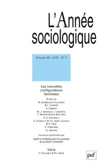 Abonnement L'Année sociologique
