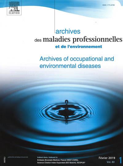 Archives des maladies professionnelles