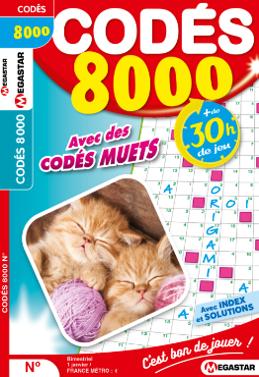 Abonnement codés 8 000 jeux