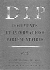 Abonnement Documents et informations parlementaires