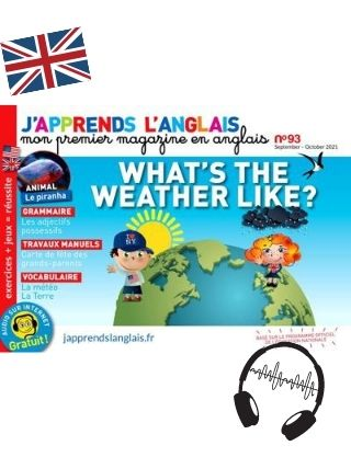 J'apprends l'Anglais Magazine Langue Enfant