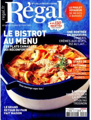 Régal Abonnement - Magazine Cuisine / Gastronomie