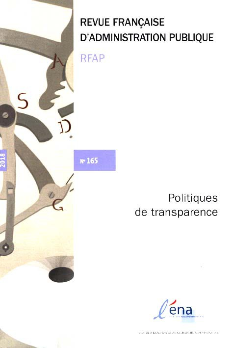 Abonnement Revue française d'administration publique
