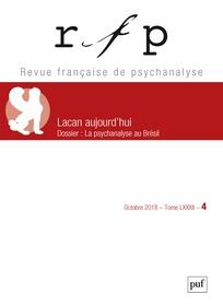 Abonnement Revue française de psychanalyse