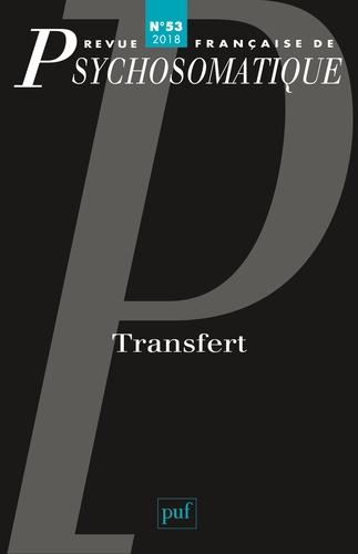 Abonnement Revue française de psychosomatique