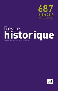 Abonnement Revue historique