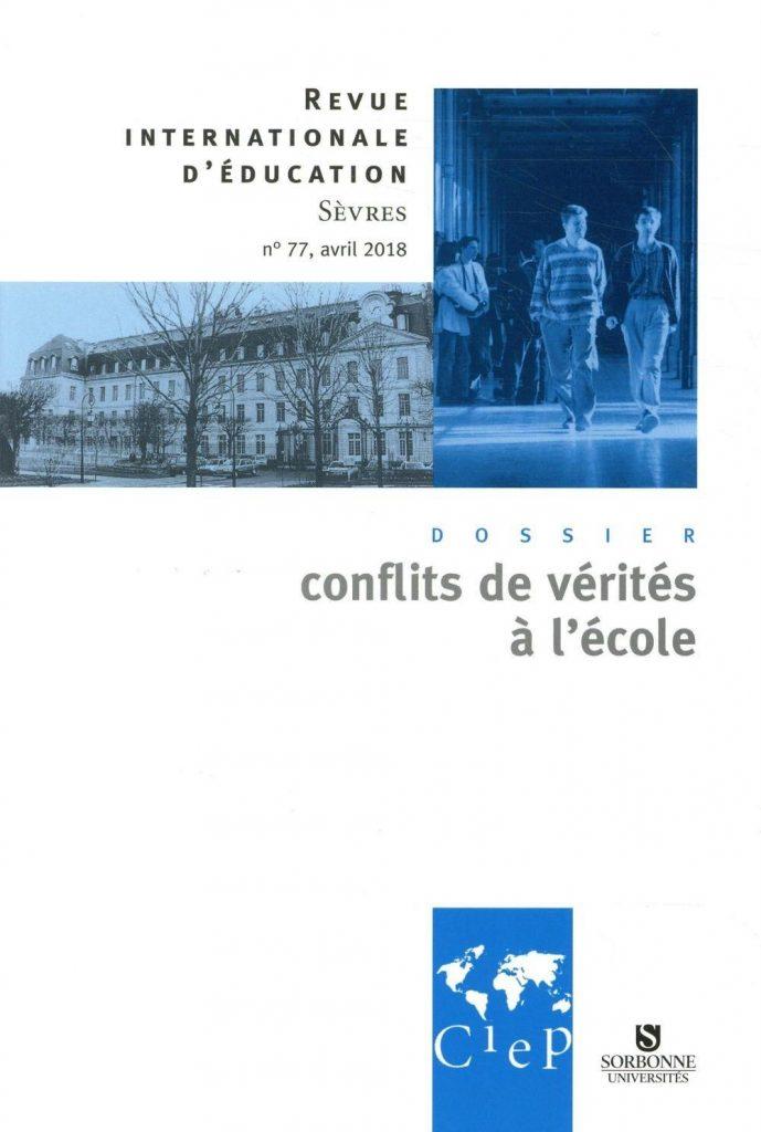 Abonnement Revue internationale d'éducation Sèvres