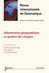 Subscription Revue internationale de géomatique
