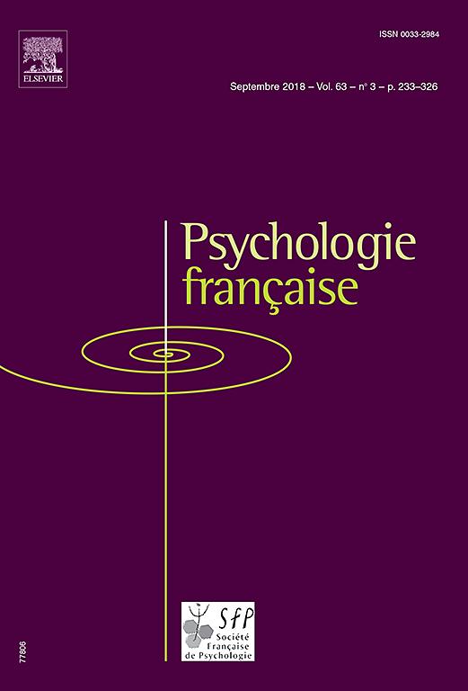 Abonnement Psychologie française