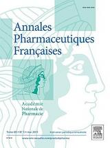 Abonnement Annales pharmaceutiques françaises