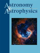 Abonnement Astronomy and Astrophysics