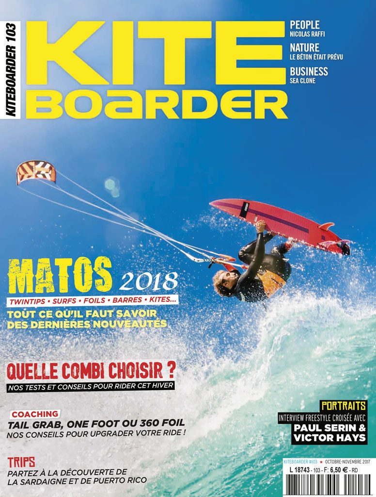 Couverture de KITEBOARDER