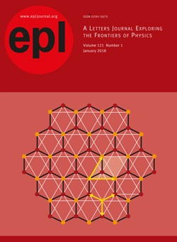 Abonnement EPL – Europhysics Letters