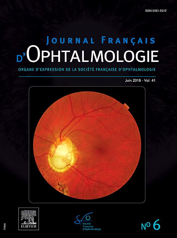 Abonnement Journal français d'ophtalmologie