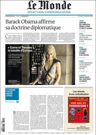 Le Monde Sélection hebdomadaire