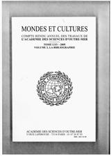 Abonnement Mondes et cultures