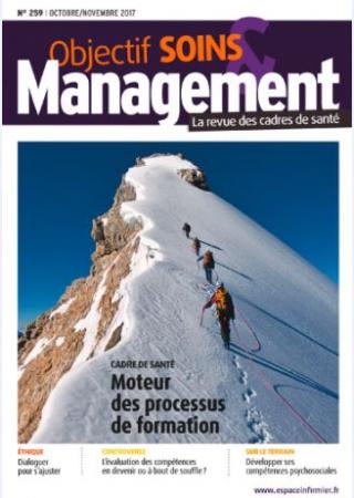 Abonnement Objectif soins & Management