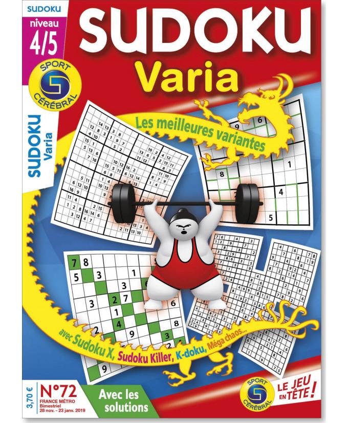 Abonnement Sudoku varia