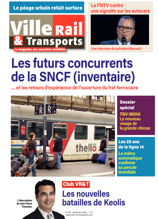Abonnement Ville, Rail & Transports