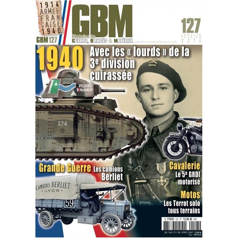 Abonnement Guerres blindés et matériels – GBM