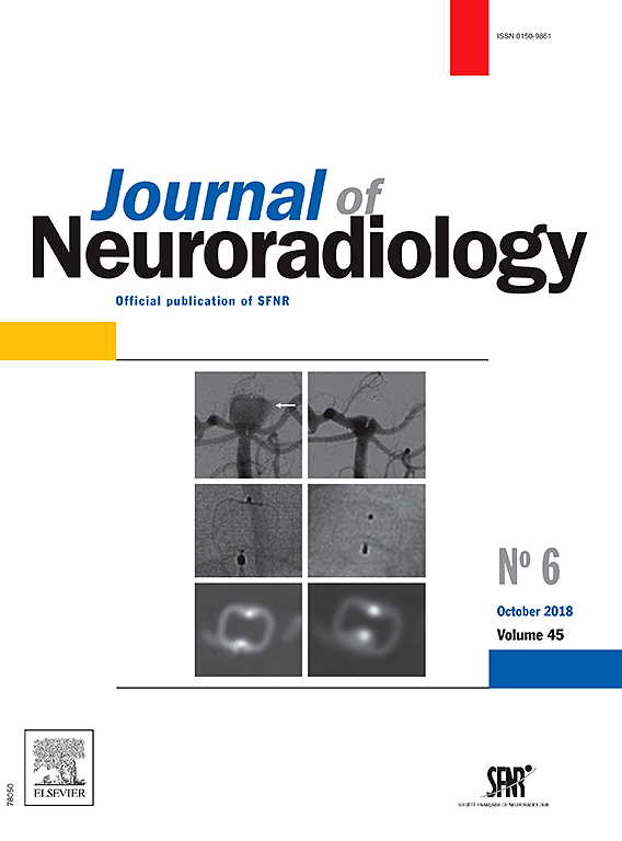Abonnement Journal of neuroradiology
