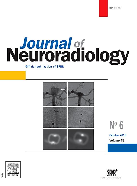 Abonnement Journal of neuroradiology