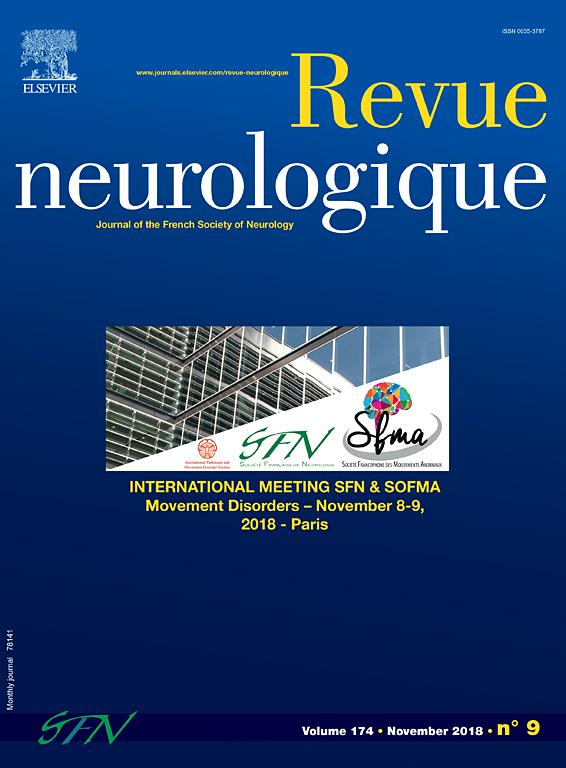 Abonnement Revue neurologique