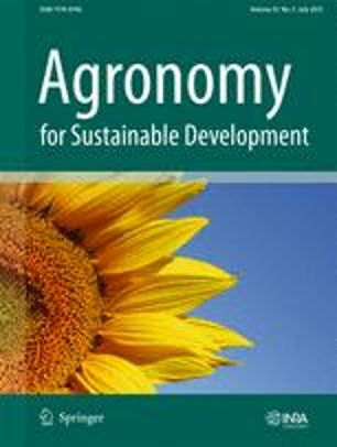 Abonnement Agronomy for Sustainable Development