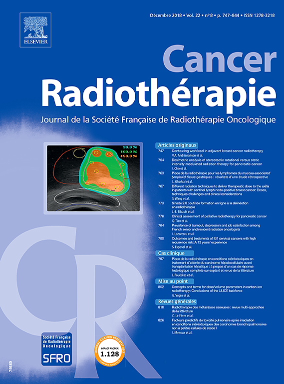 Cancer/Radiothérapie