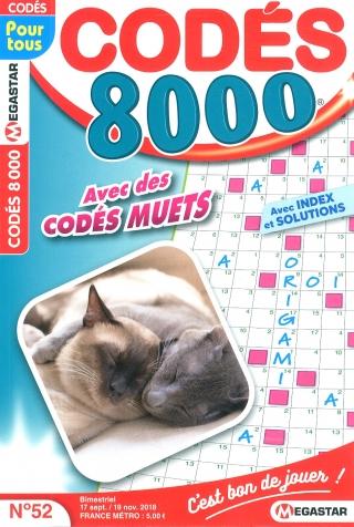 Abonnement Codés 8 000