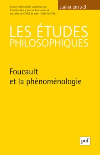 Abonnement Les Études philosophiques