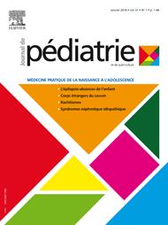 Abonnement Journal de pédiatrie et de puériculture