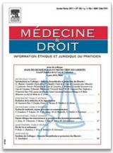 Abonnement Médecine et droit