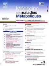 Abonnement Médecine et maladies métaboliques