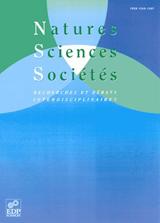 Abonnement Natures Sciences Sociétés