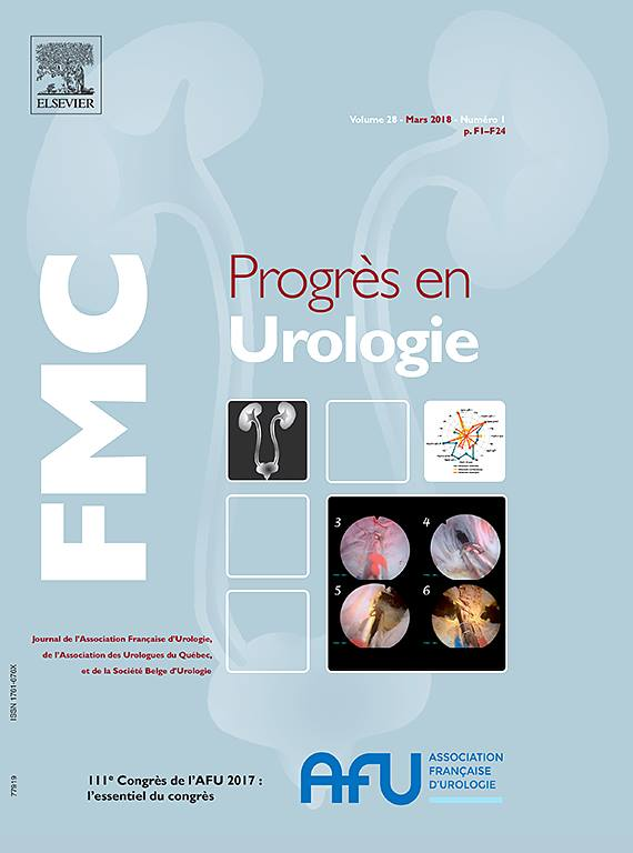 Abonnement Progrès en urologie