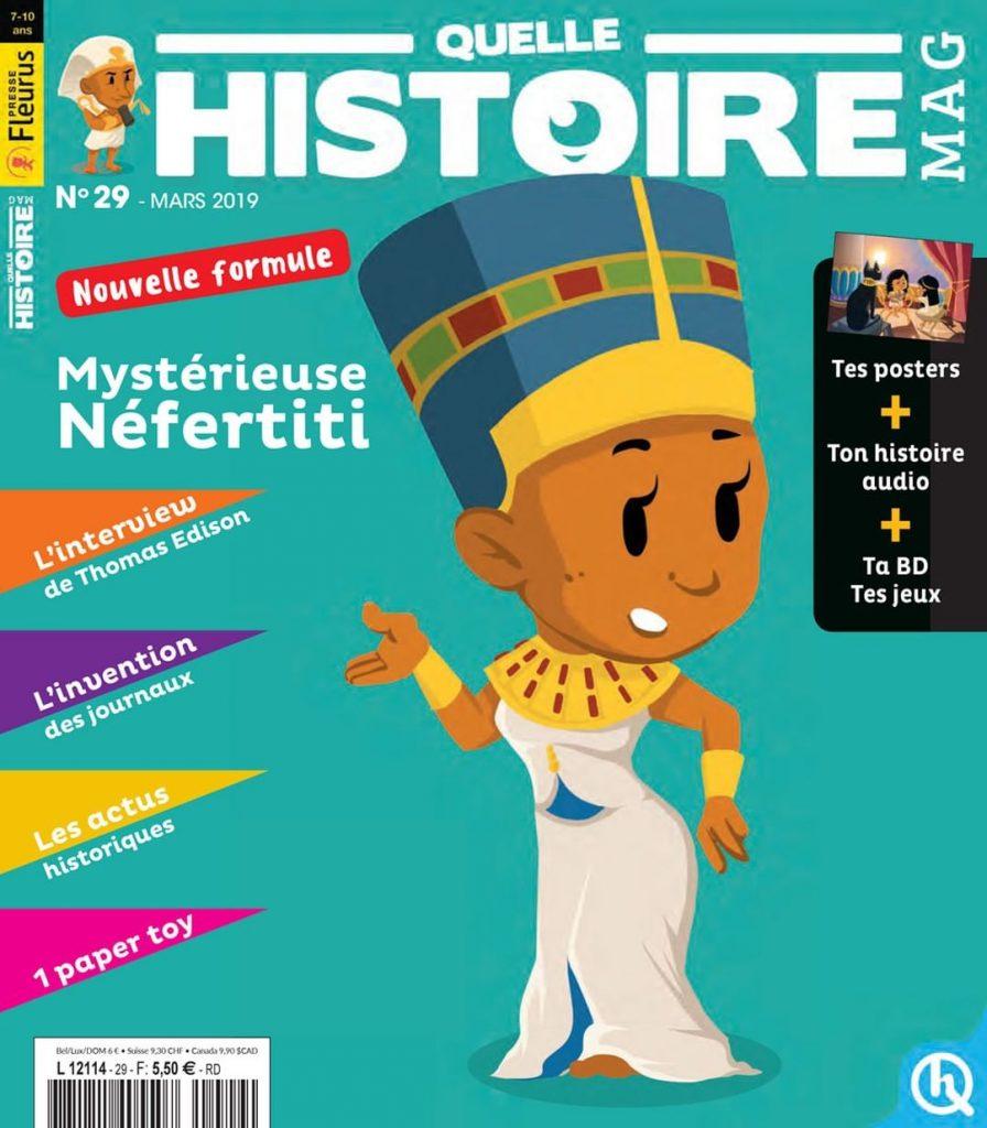 Abonnement Quelle histoire Magazine
