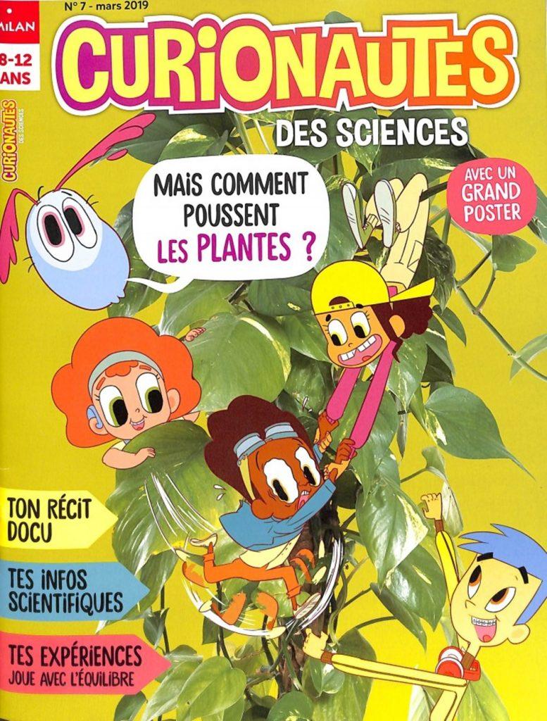 Abonnement Curionautes des Sciences