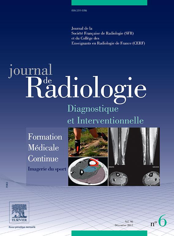 Abonnement Journal de Radiologie