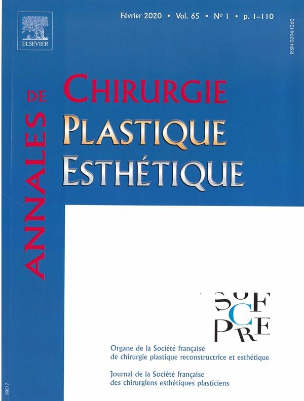 Annales de Chirurgie plastique et esthétique