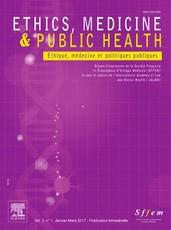 Abonnement Ethique et médecine politiques publiques