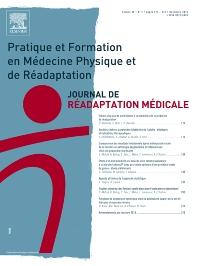 Abonnement Journal de réadaptation médicale