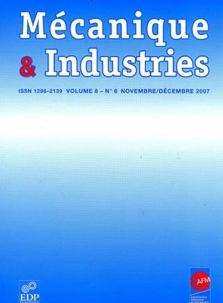 Abonnement Mécanique et industries