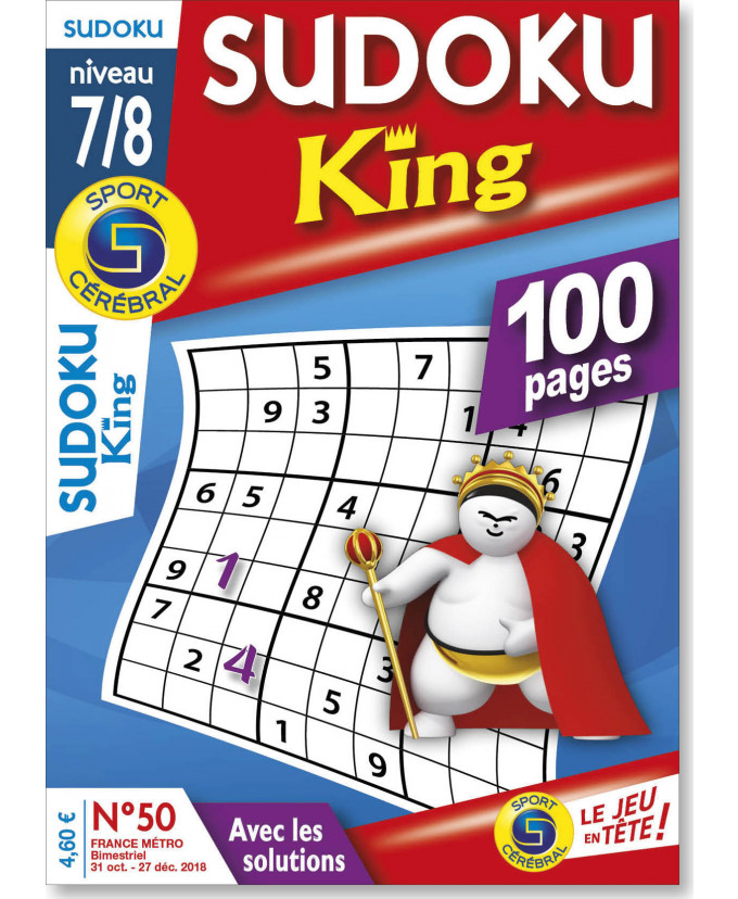 Abonnement Sudoku king 7/8