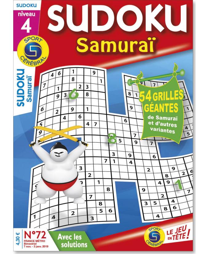 Abonnement Sudoku samuraï