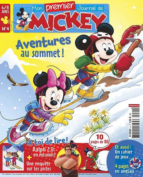 Abonnement Mon Premier Journal de Mickey