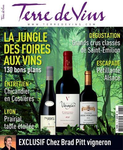 couverture terre de vin abonnement magazine œnologie